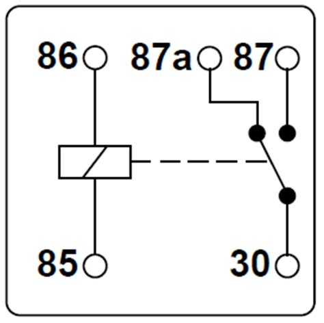 automotive relay guide 12 volt planet