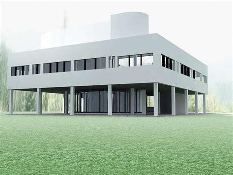 villa exterior 3d model 40 complete success clipgoo villa savoye 3d model
