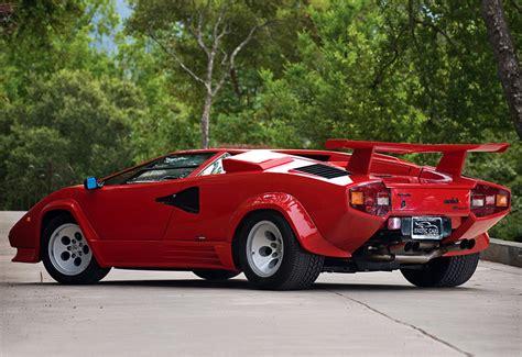 1985 Lamborghini Countach 1985 Lamborghini Countach 5000qv Specifications Photo