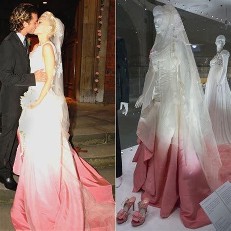 Gwenn Dres from kate moss to gwen stefani wedding dresses