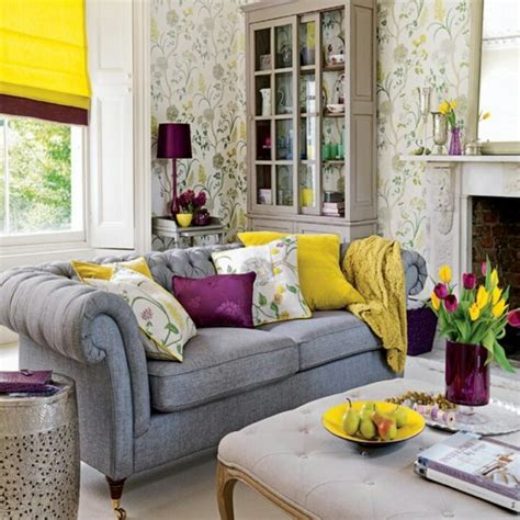 purple yellow and grey bedroom yellow grey and purple for the home pinterest
