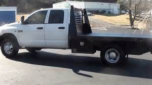Dodge 3500 Diesel Trucks For Sale For Sale 2007 Dodge Ram Drw Flatbed Work Truck Diesel 87k