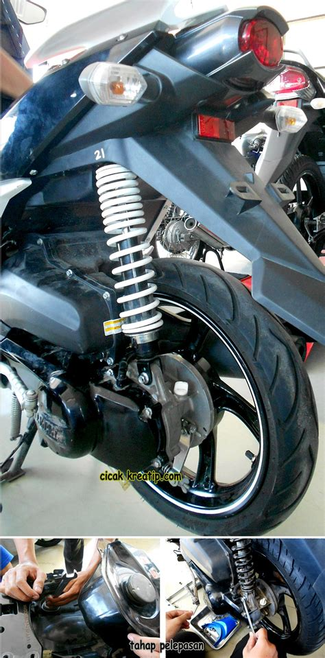 Shock Ohlins Untuk Mio 301 moved permanently