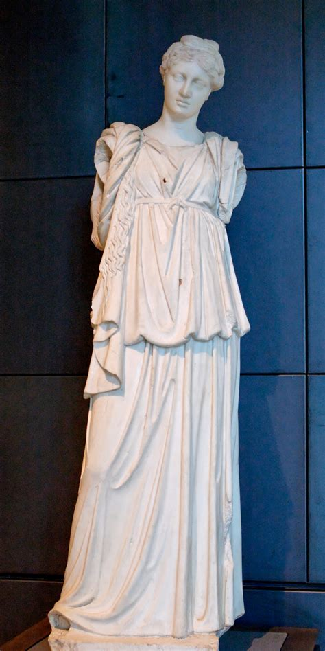 ancient greek woman statue doric chiton statue google search greek and roman