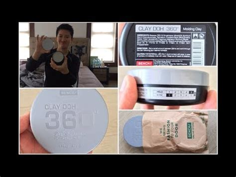 Hair Wax Fix Shapeshifer Molding Clay Bench 80grnot Pomade bench fix 360 clay doh hair unboxing review