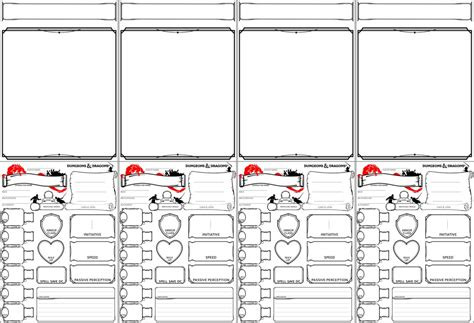 dnd card template dnd 5e gm character tents printable by kitaensilva on