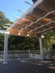 Pergola Sun Shades by Trex Pergola Kit With Canopy Long Island New York