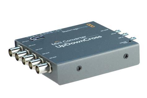 blackmagic format converter blackmagic mini converter up downcross camelot broadcast