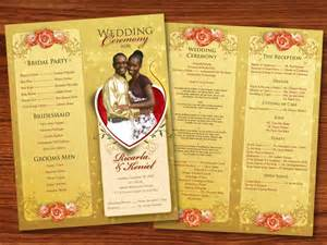 wedding program designs my friend wedding program by owdesigns on deviantart