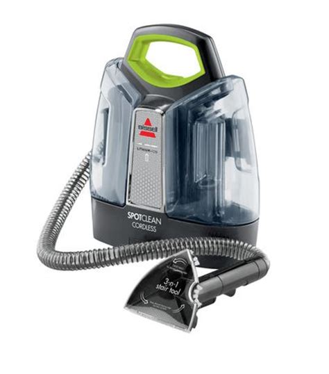 walmart upholstery cleaner bissell spotclean cordless carpet and upholstery cleaner