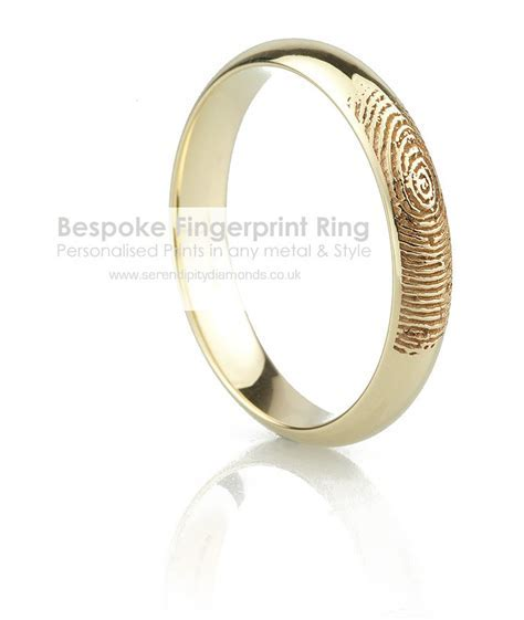 Best 25  Fingerprint ring ideas on Pinterest   Fingerprint
