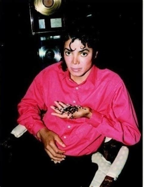 Mj Pink mj and a spider michael jackson