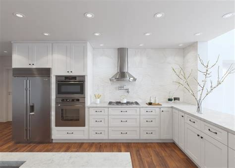 White Shaker Kitchen Shaker Kitchen Cabinets The Rta Store