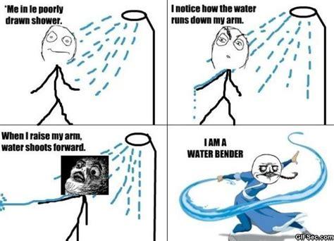 funny meme the water bender jpg