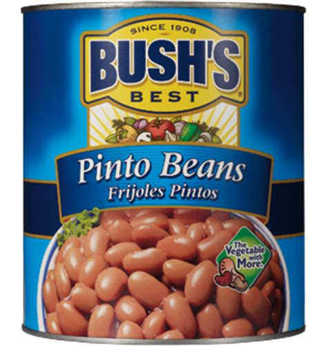 Shelf Of Pinto Beans by Bush S Best Pinto Beans Canned Pinto Beans Bush S