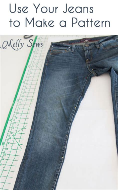 pattern for jeans sew jeans for yourself rub off pattern melly sews