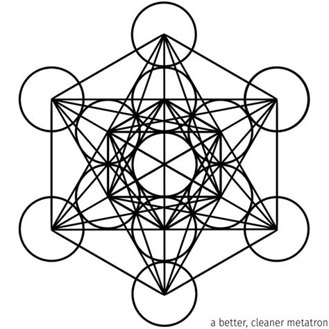 metatron s cube new and improved by seanwendt on deviantart