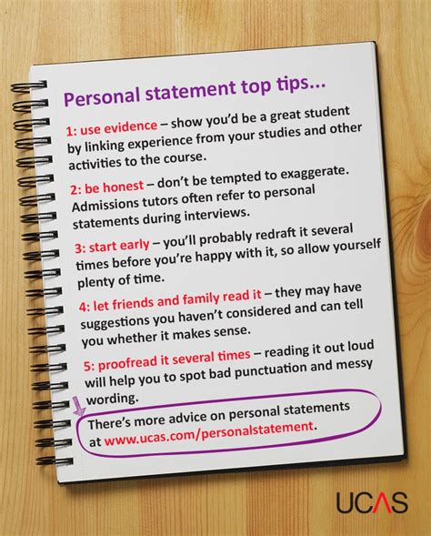 College Application Essay Tips Personal Statement The Ucas 10 Places To Get Personal Statement Pointers