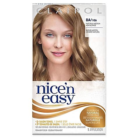 buy clairol nice n easy non permanent hair colour 8 buy clairol 174 nice n easy permanent hair color 8a 106