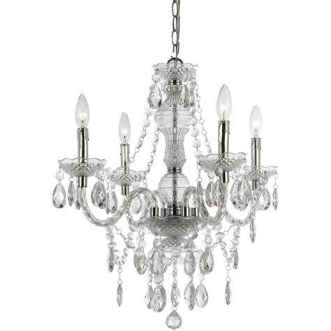 af lighting naples 4 light chrome mini chandelier with