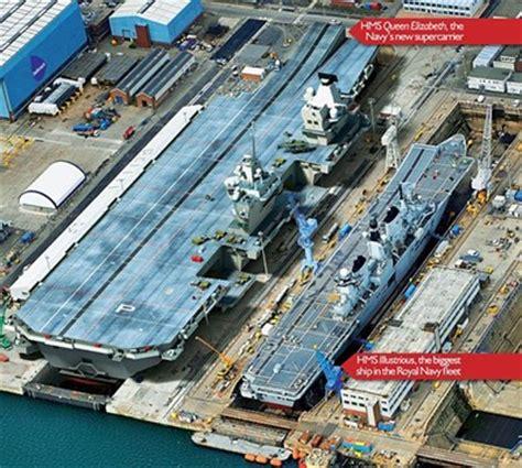miragec14: hms queen elizabeth new aircraft carrier close