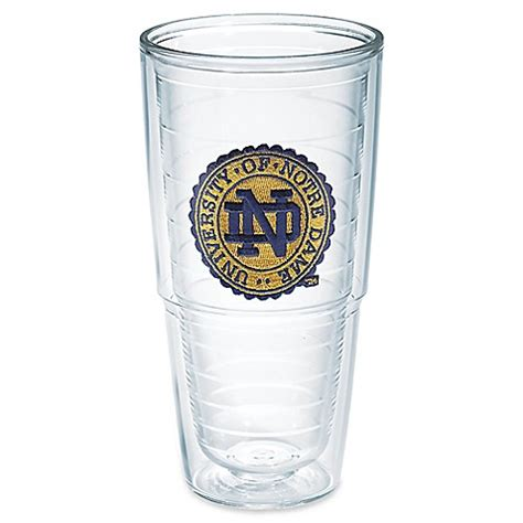 tervis bed bath and beyond buy tervis 174 university of notre dame seal 24 oz tumbler