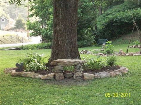 large backyard landscaping best 25 landscape around trees ideas on pinterest