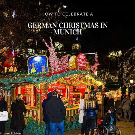 how to celebrate a german christmas in munich travel