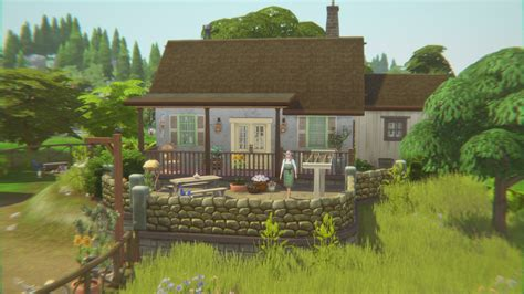 century cottage home  catsaar sims  downloads