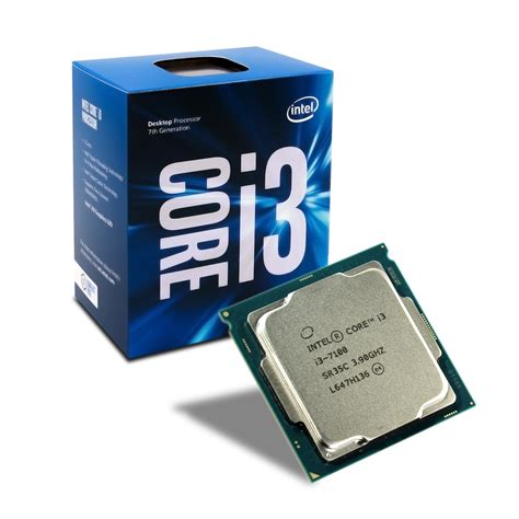 Intel I3 7100 Box 3 9ghz processador intel lga 1151 i3 7100 3 9ghz box