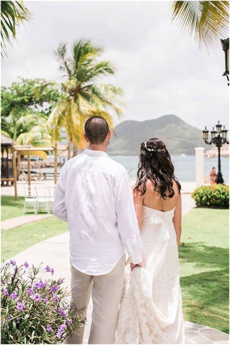 Destination Weddings on the Beach: St Lucia CarolynMarie