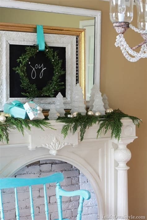 keeping cats from mantel decorations and trees mantel decor glittered glass trees in my own style