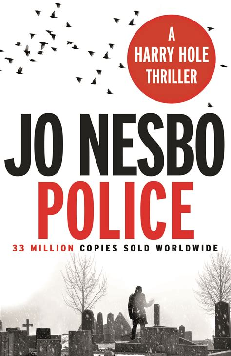 police a harry hole police by jo nesbo penguin books australia