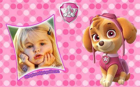 fotomontajes gratis de la patrulla canina fotomontajes de paw patrol fotomontajes infantiles