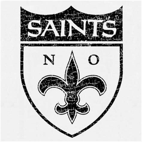 tattoo saints logo new orleans saints vintage t shirt logo retro throwback