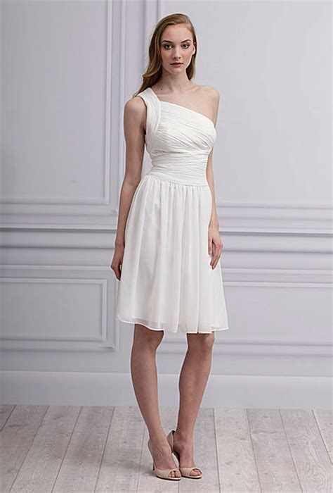 White Bridesmaid Dress by White Bridesmaid Dresses Dressed Up