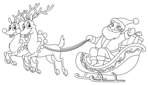 Kostenlose Vorlage Kündigung Sky Kostenlose Malvorlage Weihnachten Weihnachtsmann Mit Rentierschlitten Zum Ausmalen