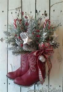 cowboy boots christmas decorations christmas pinterest