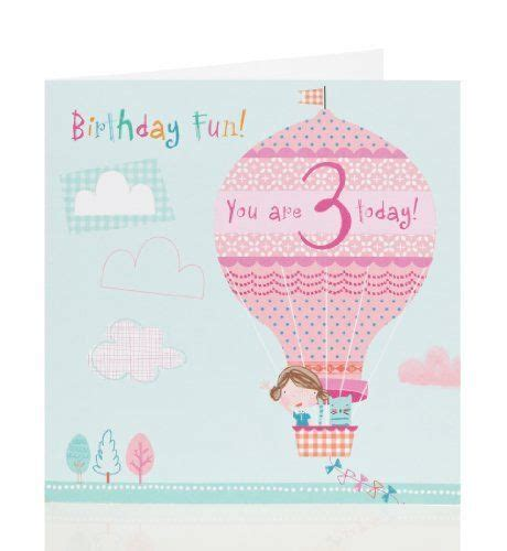 Marks And Spencer Anniversary Gift Card - kids birthday cards marks spencer and age 3 on pinterest