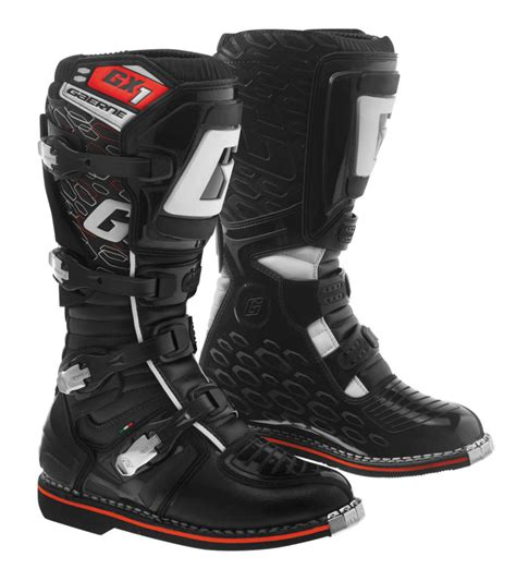 mens motocross boots 195 11 gaerne mens gx 1 mx motocross off road riding 1037183
