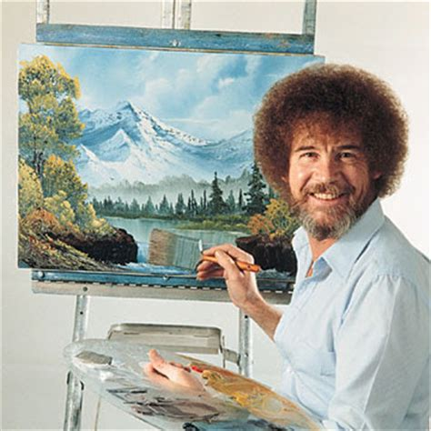 cubsicle: bob ross