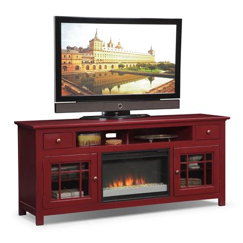 Fireplace Stand by Merrick Entertainment Wall Units 74 Quot Fireplace Tv