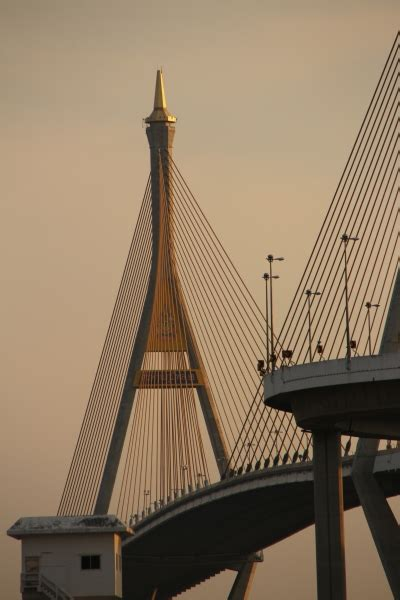 pont bhumibol  bangkok  structurae