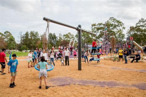 biggo swing nsw birriwa reserve outdoor youth space mount annan