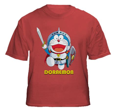 Kaos Doraemon Logo 2 doraemon collections t shirts design