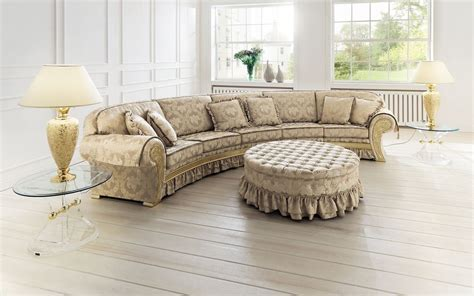 round sofa set designs upholstered suite chagall finkeldei