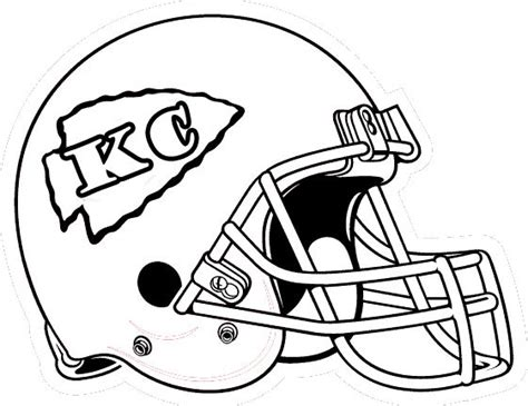 Best 25 Kc Football Ideas On Pinterest Football Nails Chiefs Coloring Pages