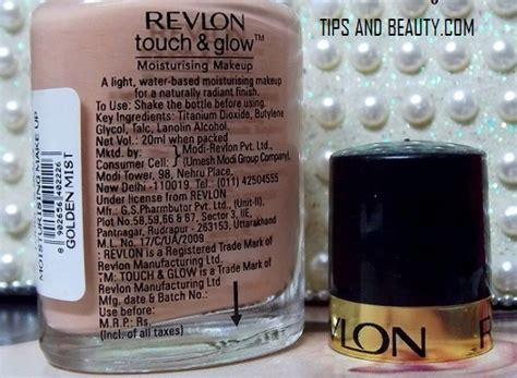 Revlon Touch And Glow Foundation revlon touch and glow foundation moisturising makeup review