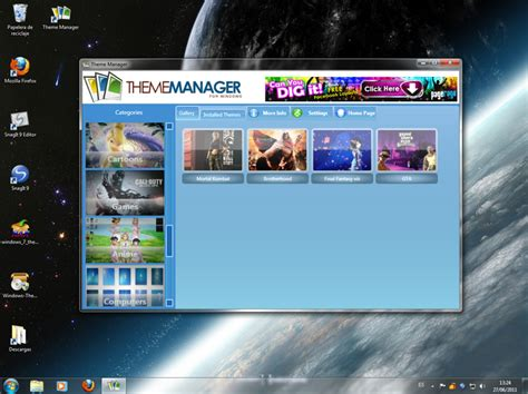 themes pc telecharger windows 7 theme manager windows t 233 l 233 charger