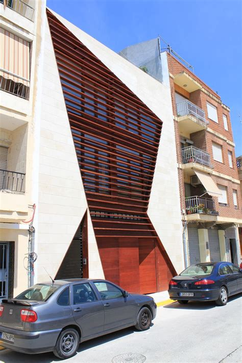building a home design tips brown facade design ideas in modern style left view home
